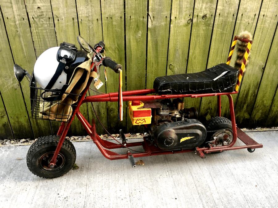 Original Dumb and Dumber Mini Bike For Sale on eBay