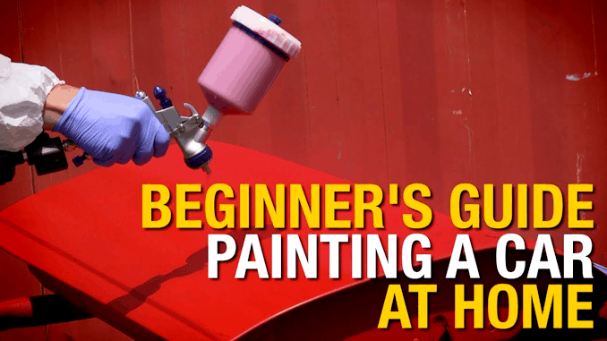 Paint a Car at Home