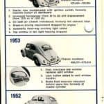 1952-55 Volkswagen Beetle