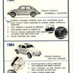 1963-66 Volkswagen Beetle