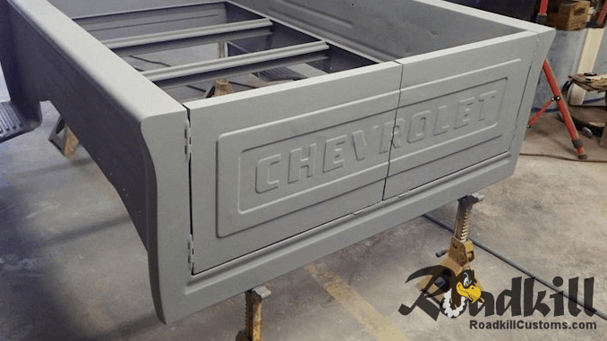 Barn Door Tailgate Project - 1955 Chevrolet Truck