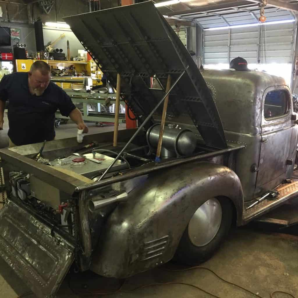 1939 Plymouth Pickup Truck In Progress
