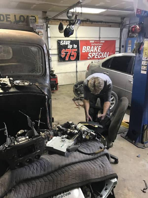 1946 Chevrolet Truck - 2002 Prius Unibody Chassis Swap