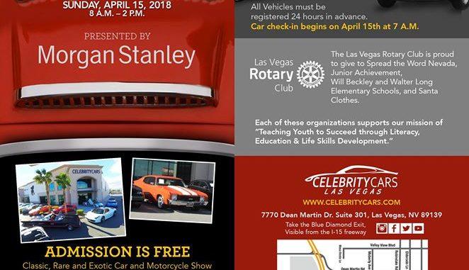 Las Vegas Rotary Club Annual Car Show Roadkill Customs - Car show in vegas 2018