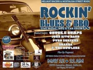 ROCKIN BLUES,BBQ  Car Show