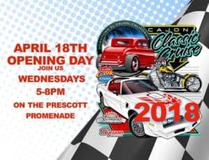Cajon Classic Cruise Opening Day 2018 @ Prescott Promenade Park | El Cajon | CA | United States