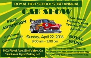 Royal High School 3rd Annual Car Show @ 1402 Royal Ave | Simi Valley | CA | United States