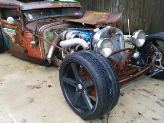 Turbo Toyota 2JZ 1931 Ford Model A Rat Rod