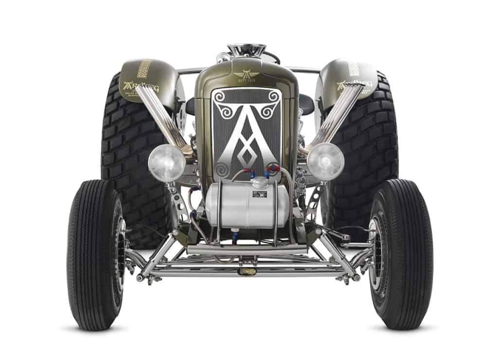 Ardbeg Whiskey Hot Rod Tractor