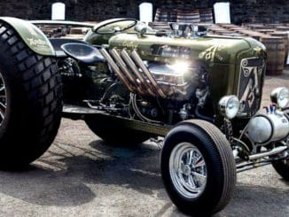 Ardbeg Whiskey Hot Rod Tractor
