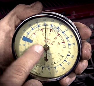 Automotive Vacuum Gauge