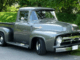 Front shot of Erin Francis' 1956 Ford F-100