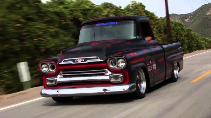 1959 Chevrolet Apache Corner Carver Roadkill Customs