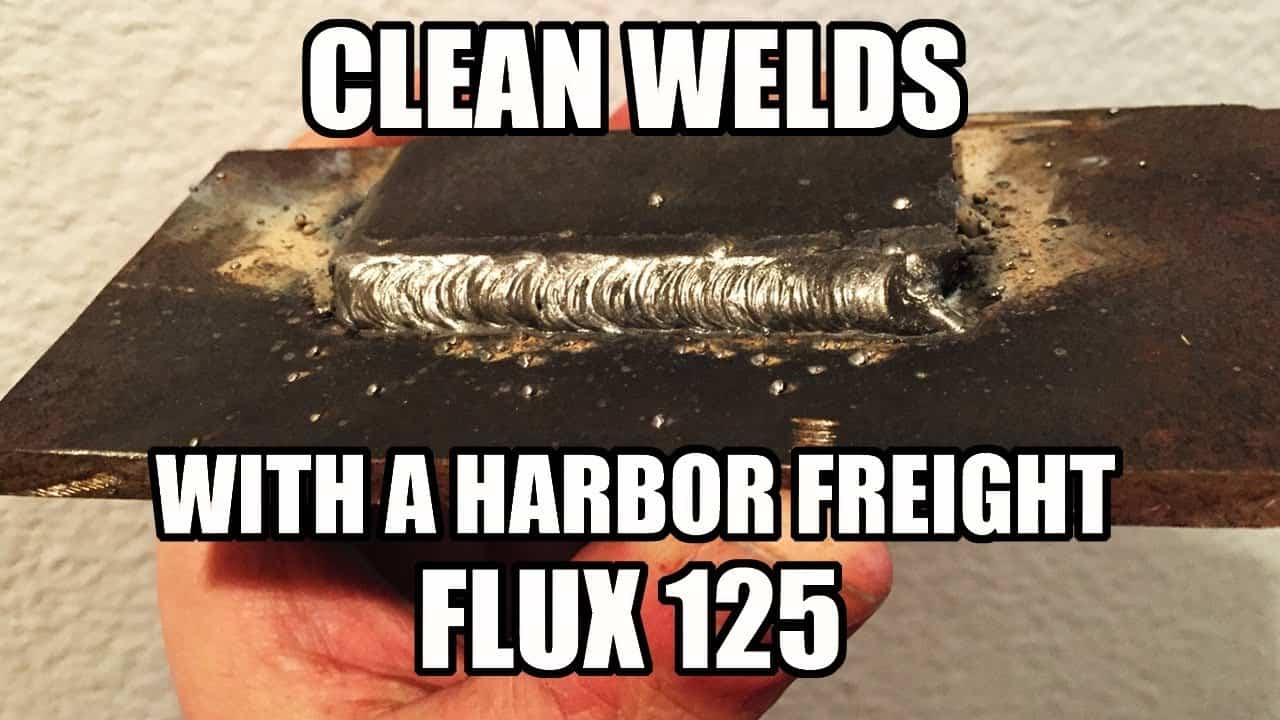 How To Get Clean Welds With A Harbor Freight Flux 125 Roadkill Customs Diagram And Parts List For Craftsman Welderparts Model 113201440