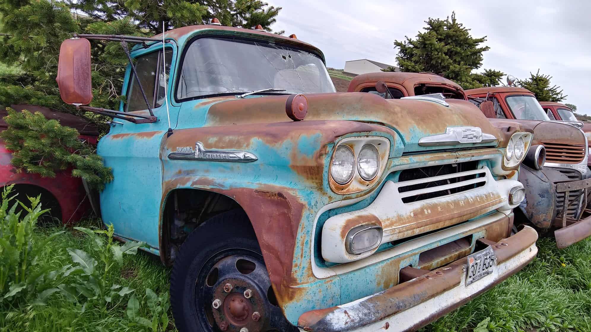 Classic 4×4 Trucks For Sale >> Classic Big Trucks For Sale In Harvard Nebraska Roadkill Customs