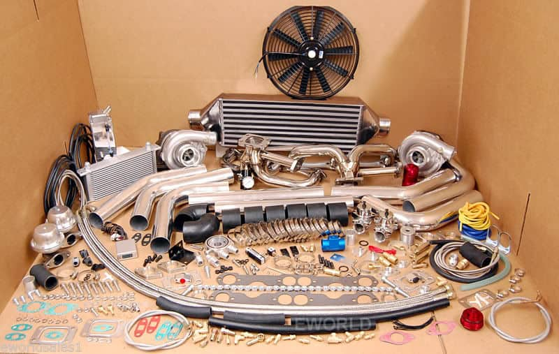 Small Block Chevy Twin Turbo Kit for $1000 ~ Roadkill Customs