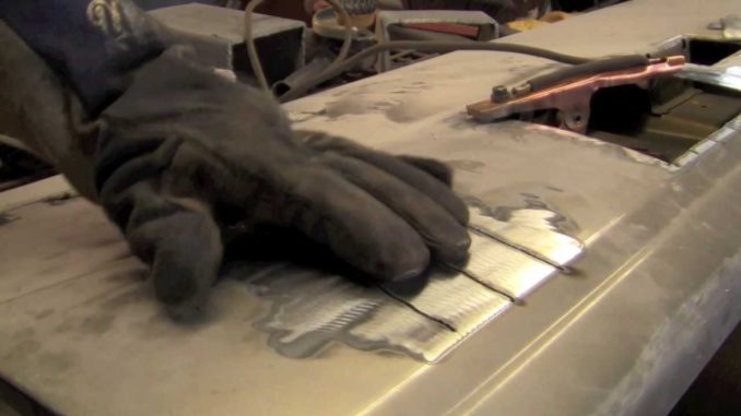 How To MIG Weld Sheet Metal