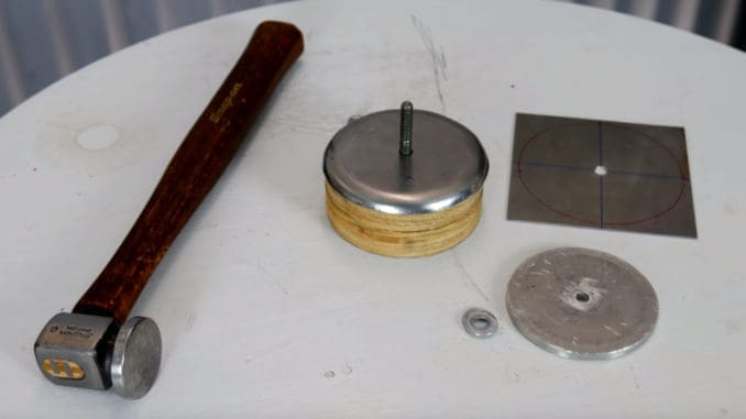 Metal Shaping with Simple Hand Tools ~ Hammer Forming