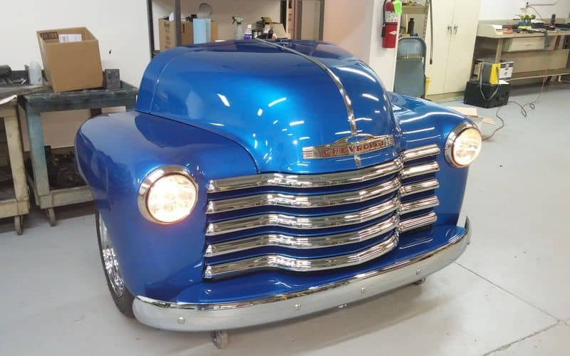 1950 Chevrolet 3100 All-Steel Toolbox in Blue