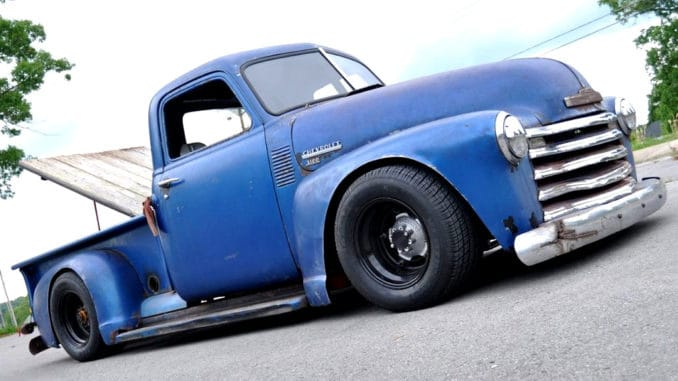 1950 Chevrolet 3100 with NASCAR Roots