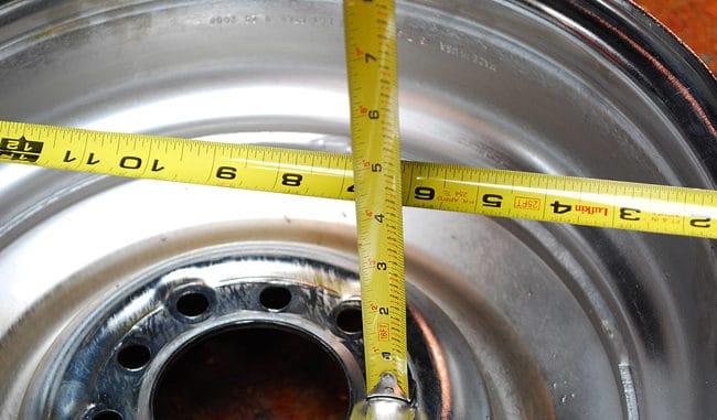 How To Measure Wheel Back Spacing