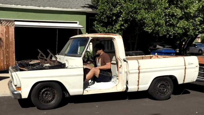 F-100 Crown Victoria Chassis Swap