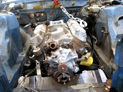 Junkyard Ford 302