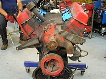 Junkyard Ford Y-Block Engine