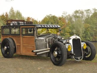 G28T 4-banger Model A Hot Rod Woody - The Coffin Shaker