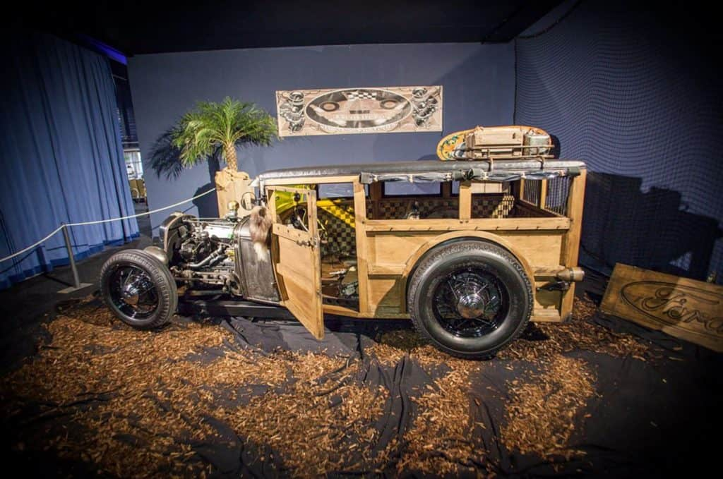 The Coffin Shaker ~ G28T 4-Banger Model A Hot Rod