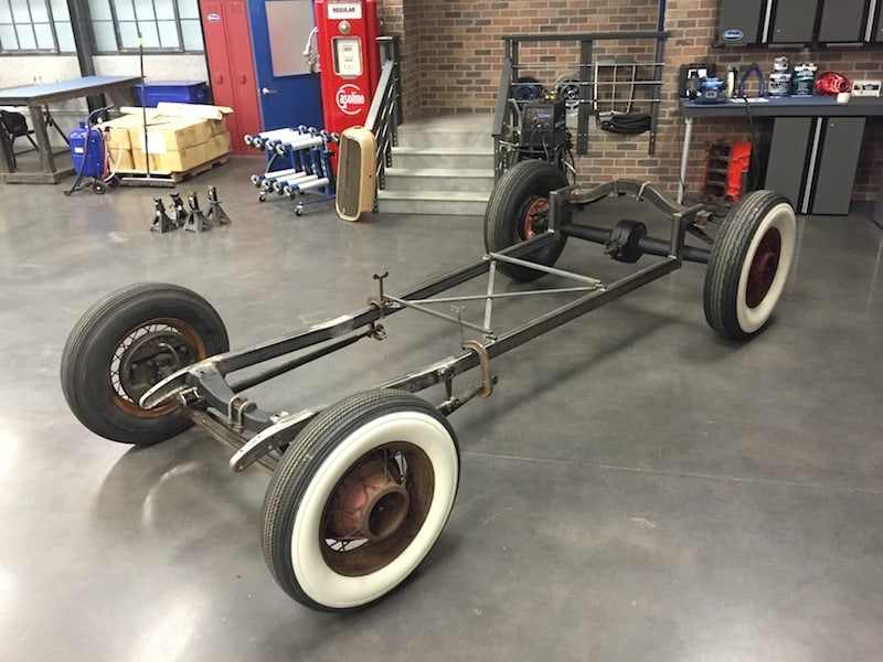 How To Channel A Ford Model A Body ~ Roadkill Customs
