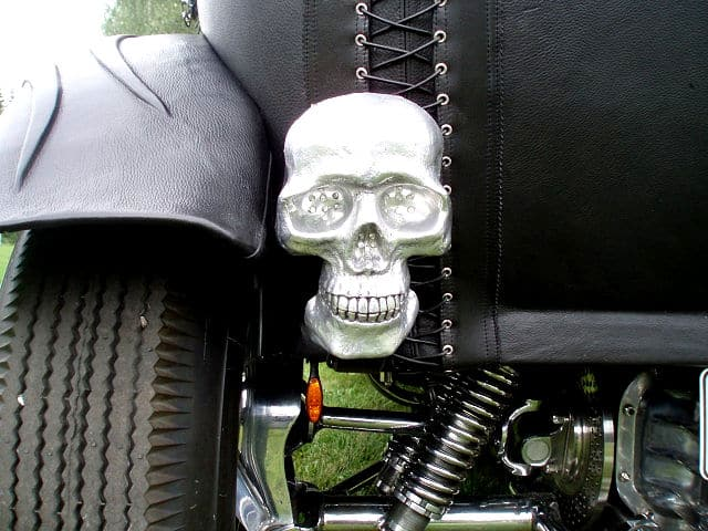 The Black Bitch Leather Wrapped Hot Rod