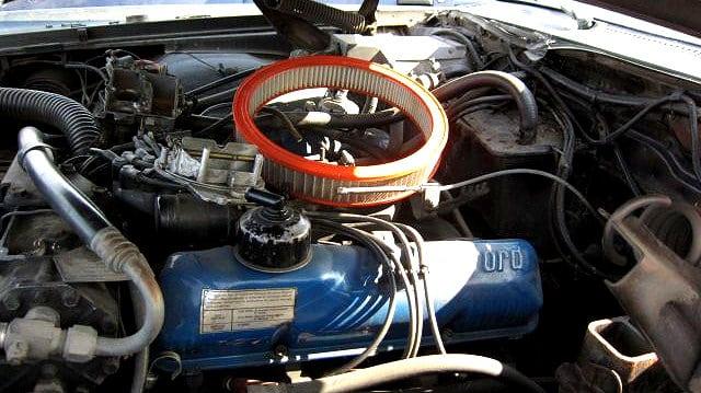 Junkyard Ford 390