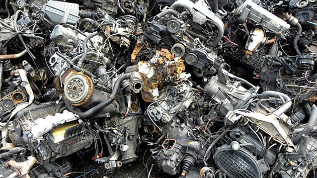 Junkyard Engines