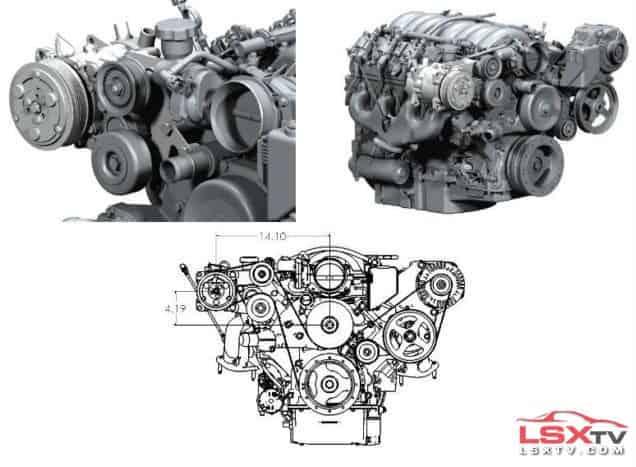 LSX Engine Brackets
