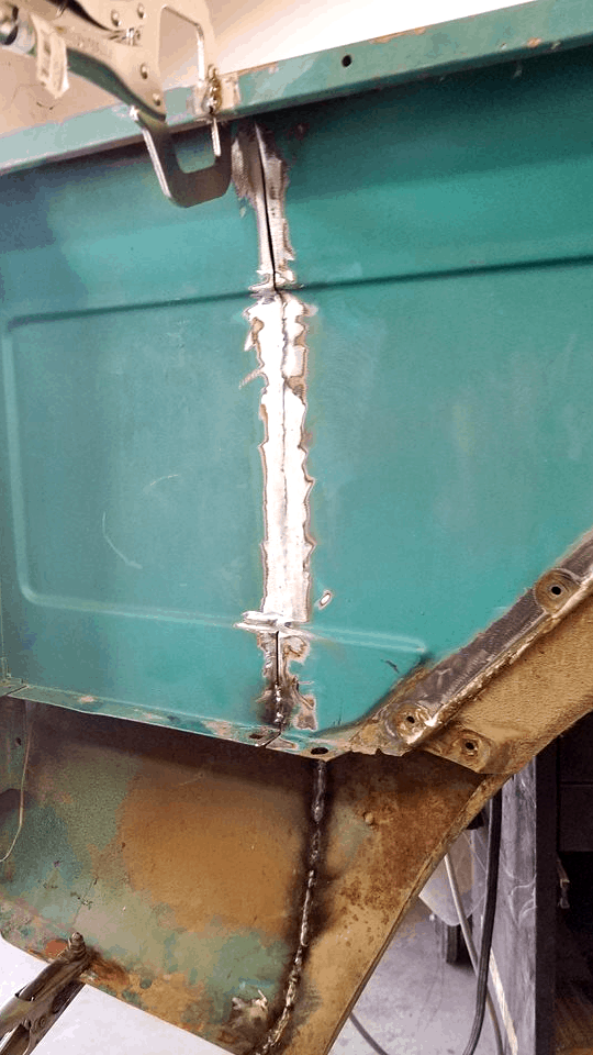 Chevrolet C10 Shortened Tubbed Truck Bed