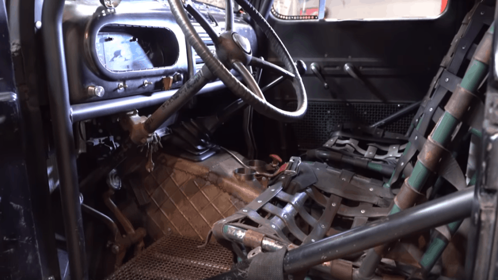 Homebuilt 1949 Ford Turbo Diesel Dually Hot Rod Interior
