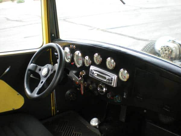 1932 Ford Pick-up Truck Interior