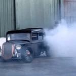 1933 Plymouth Hot Rod Burnout