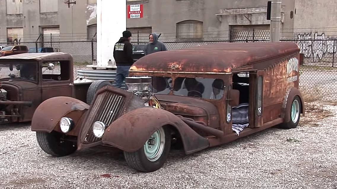 1940s Dodge Milk Truck Rat Rod