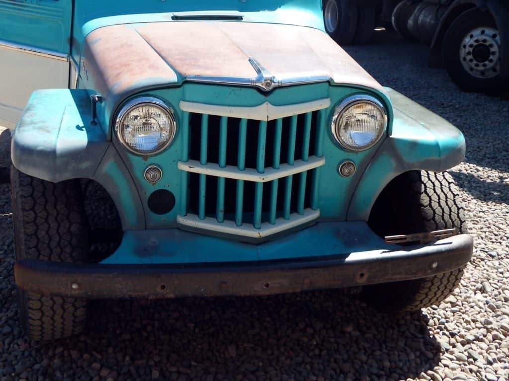 1946-1964 Willys Jeep Pickup Truck Front-End