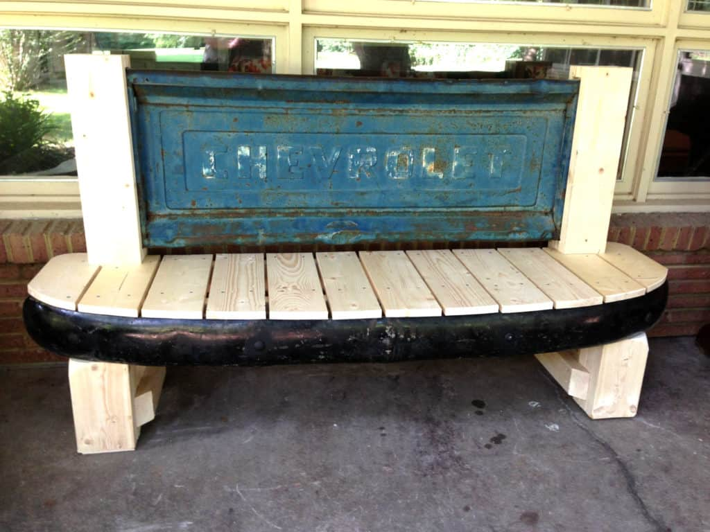 1954 Chevrolet Bumper and Tailgate Bench