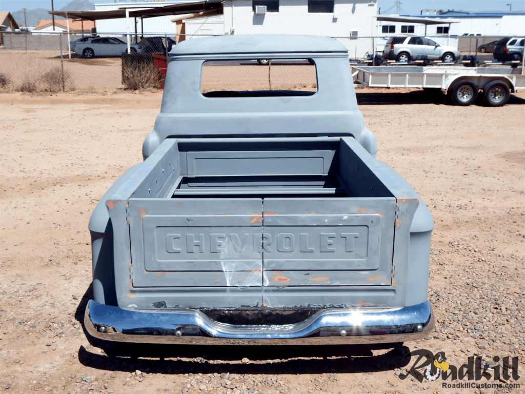 1955 Chevrolet 3100 Build - Barn-door Tailgate.