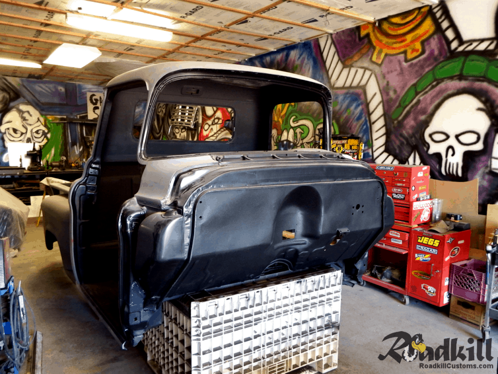 1955 Chevrolet 3100 Build - Firewall.
