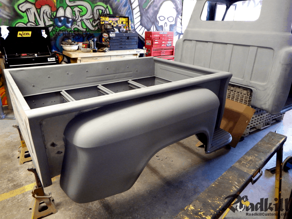 1955 Chevrolet 3100 Build - Short bed.