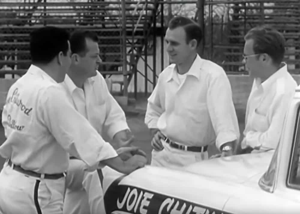 1956 Chevy Stunt Driving ~ The Joie Chitwood Thrill Show Drivers
