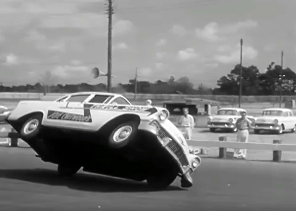 1956 Chevy Stunt Driving ~ The Joie Chitwood Thrill Show