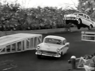 1956 Chevy Stunt Driving ~ The Joie Chitwood Thrill Show Feature