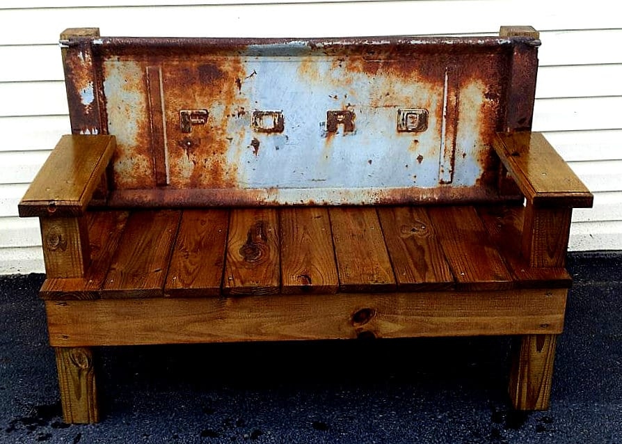 1956 Ford Tailgate Bench