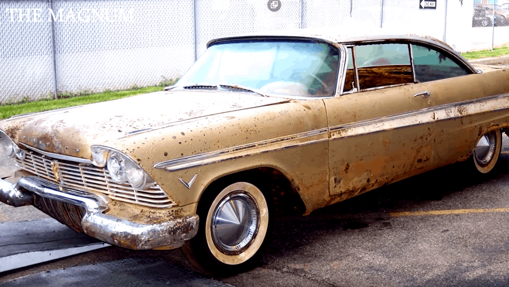 1957 Plymouth Belvedere Buried for 50 Years